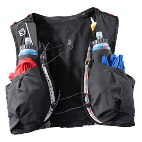 Salomon S/Lab Sense Ultra 8 Bag Set Black/Racing Red